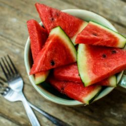 Juice from watermelon for muscle pain